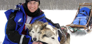 Dogsledding with Susanne Edwards in the Arctic