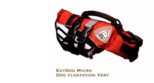 EzyDog Micro Dog Floatation Vest