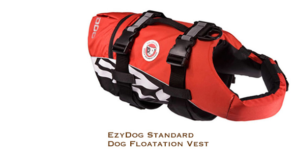 EzyDog Standard Dog Floatation Vest