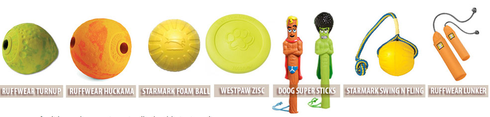 Toys for Fervent Fetchers